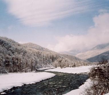 Но тропа пришла к реке, что Мзымтой в старину назвали за нрав её крутой...(М.Парамонова Сказка Красной поляны)  с.jpg